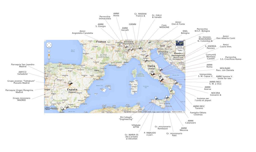 mappa collaboratori