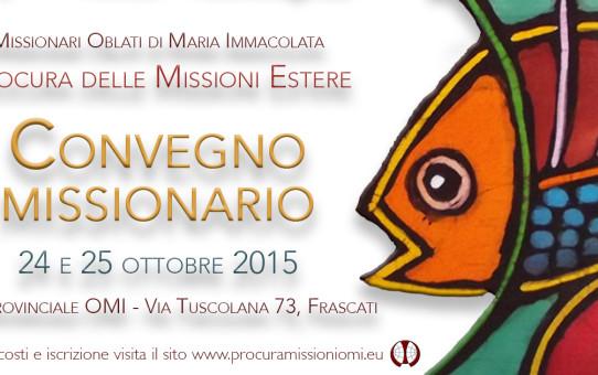 Convegno missionario della Procura 2015