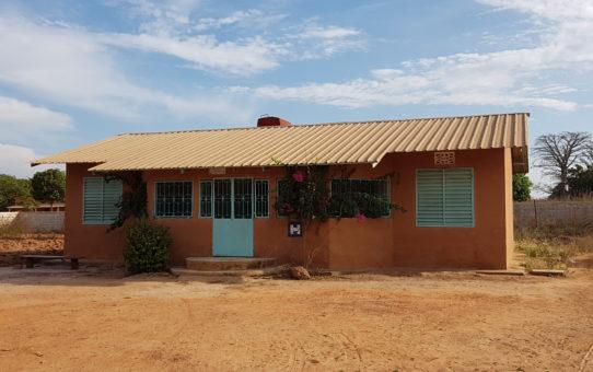 Il laboratorio di analisi a Mangaroungou